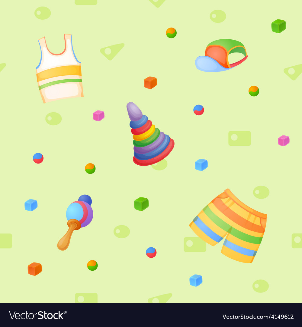 Childish background vector | Price: 3 Credit (USD $3)