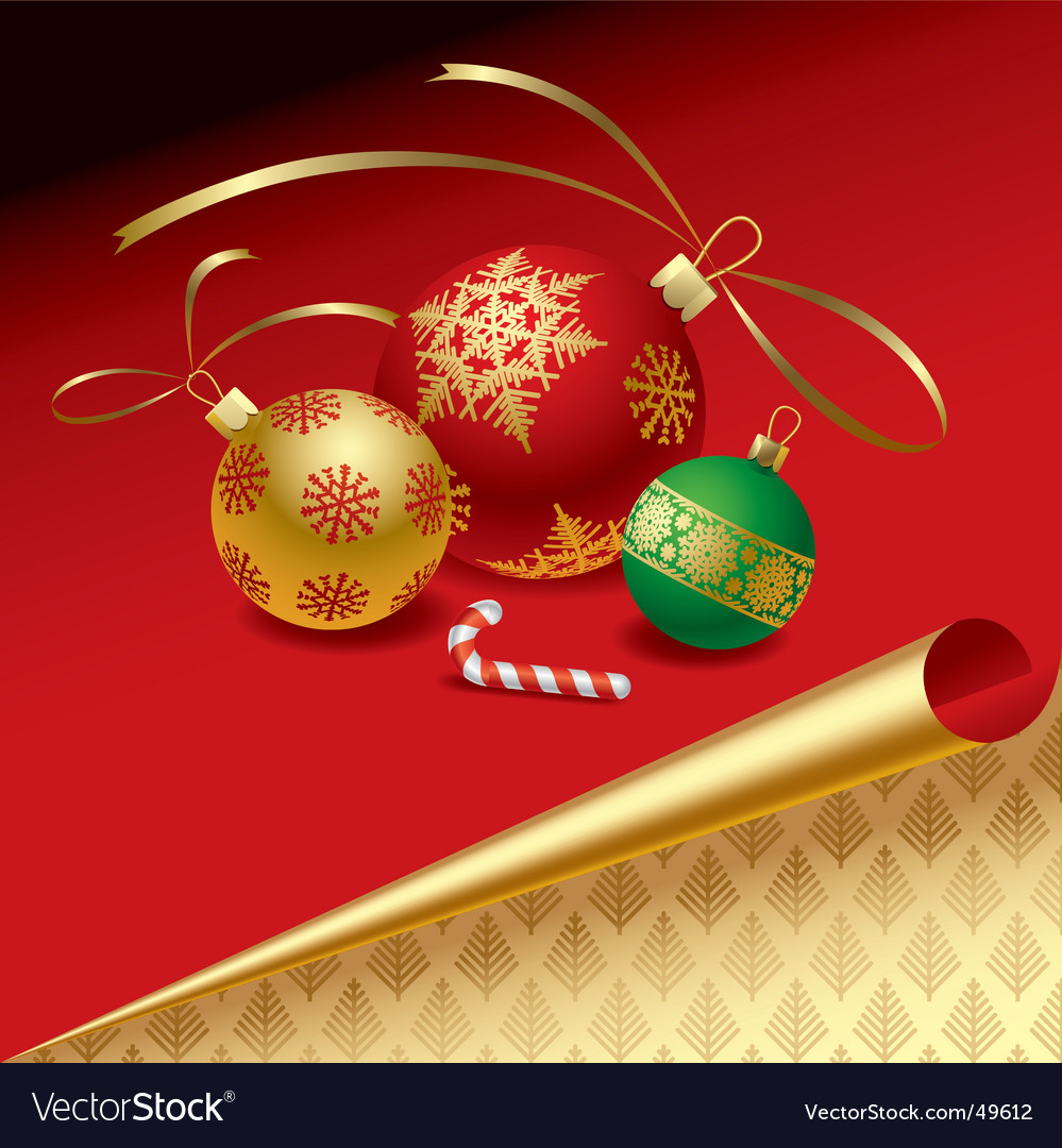 Christmas & new-year's elements vector | Price: 1 Credit (USD $1)