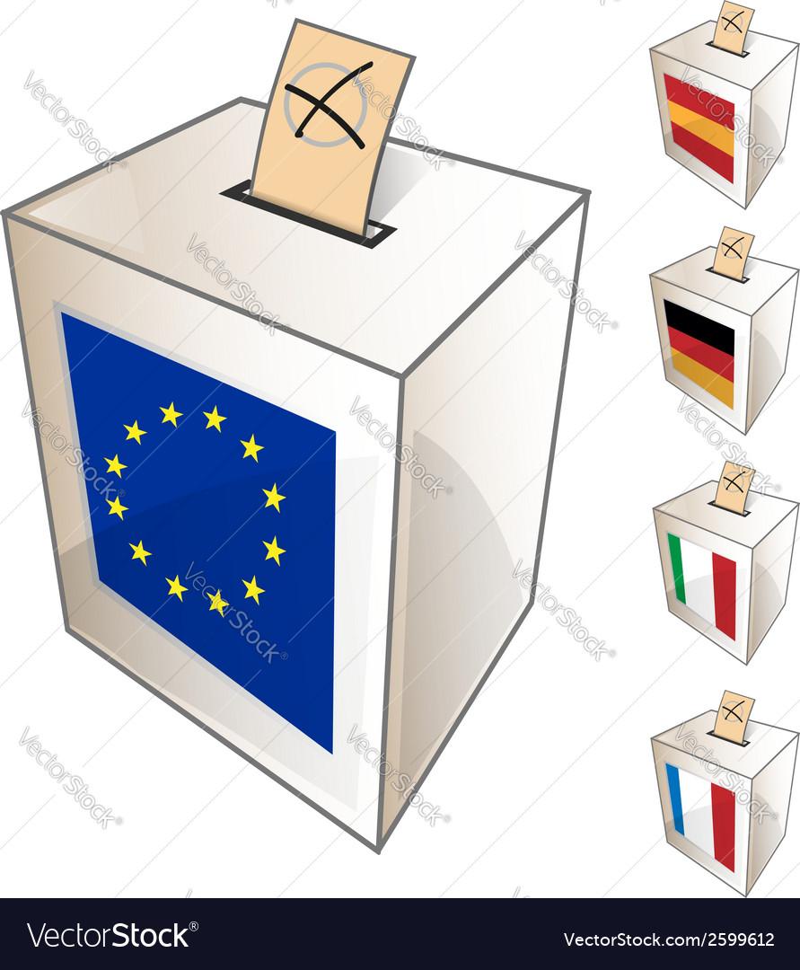 European urn symbol vector | Price: 1 Credit (USD $1)