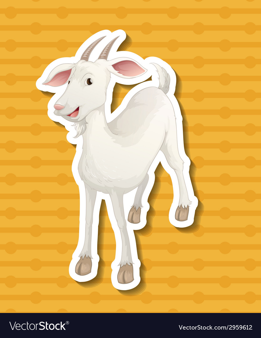 Goat vector | Price: 1 Credit (USD $1)