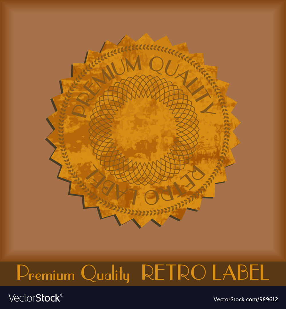 Vintage grunge labels vector | Price: 1 Credit (USD $1)