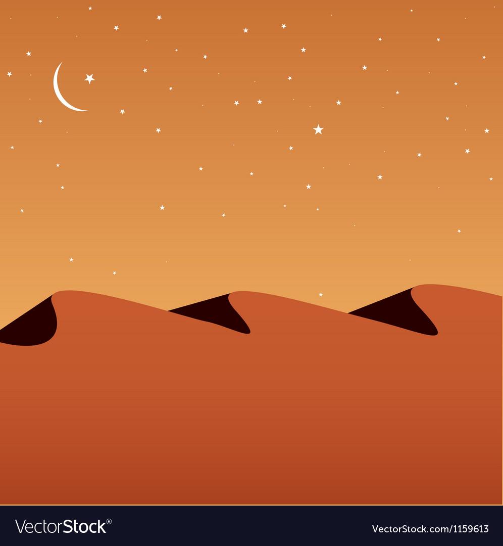 Desert vector | Price: 1 Credit (USD $1)