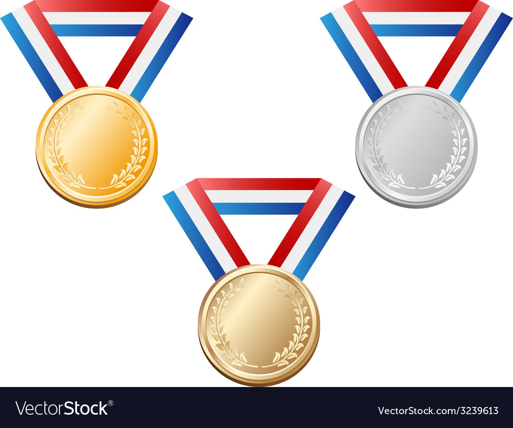 Medals vector | Price: 1 Credit (USD $1)
