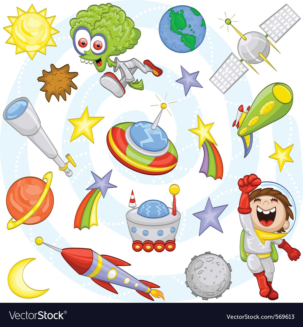 Outer space vector | Price: 3 Credit (USD $3)