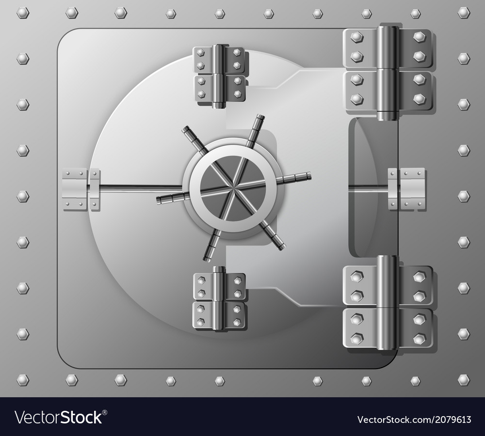 Safe vector | Price: 1 Credit (USD $1)