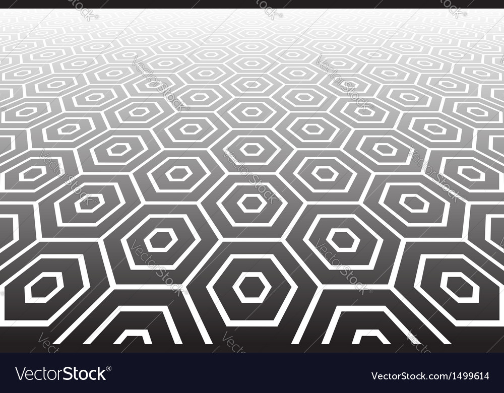 Hexagons textured surface vector | Price: 1 Credit (USD $1)