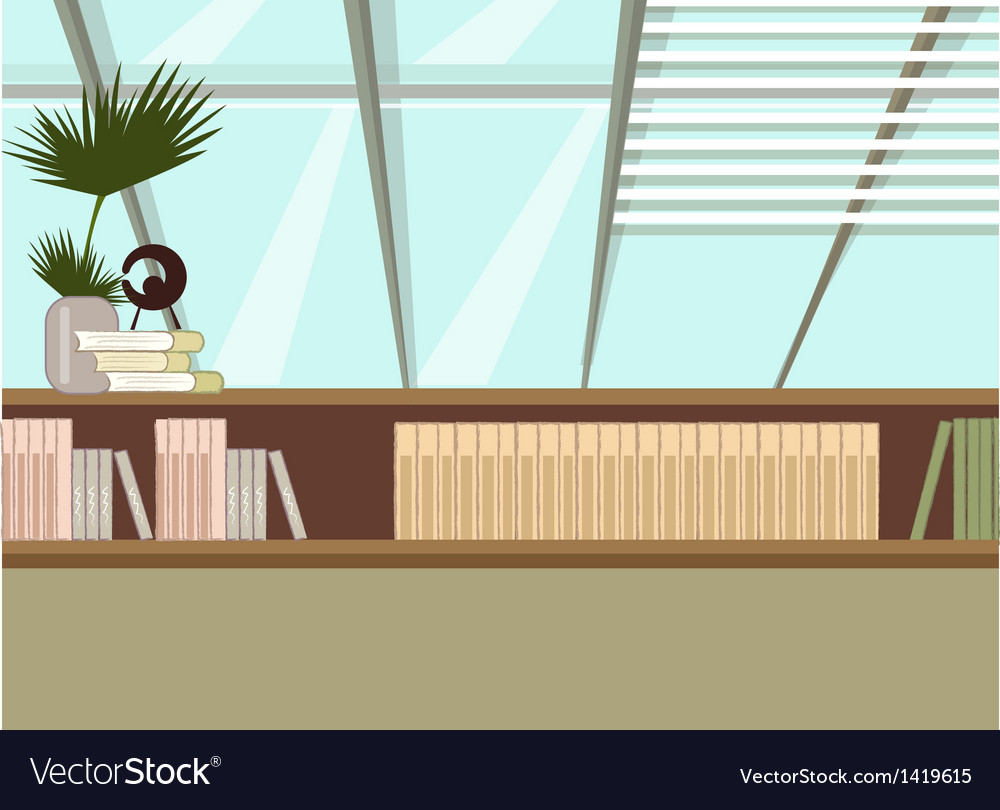 Home bookshelf vector | Price: 1 Credit (USD $1)