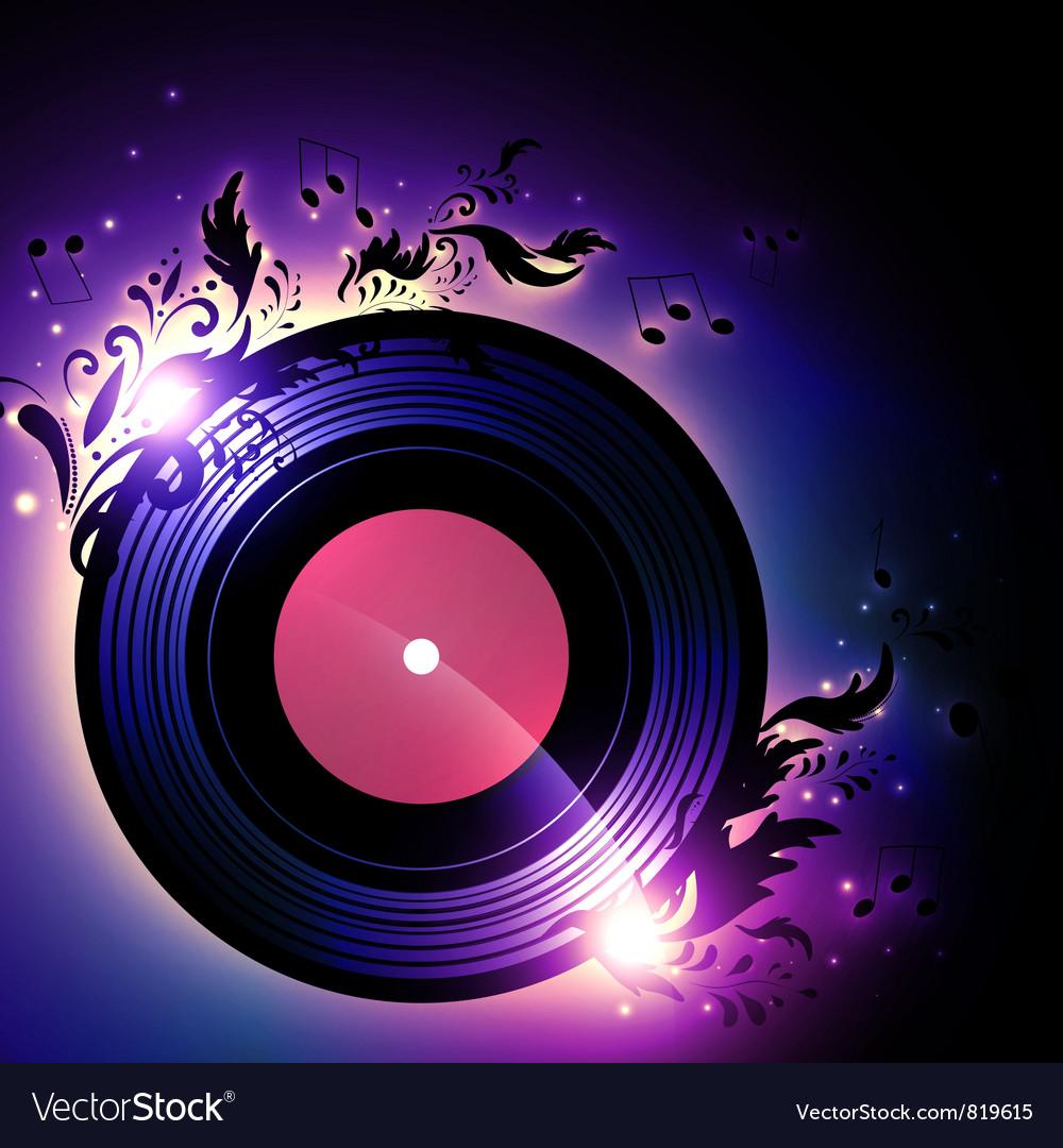 Vinyl record vector | Price: 1 Credit (USD $1)