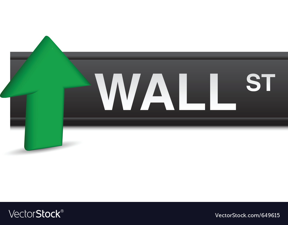 Wall street stock market vector | Price: 1 Credit (USD $1)