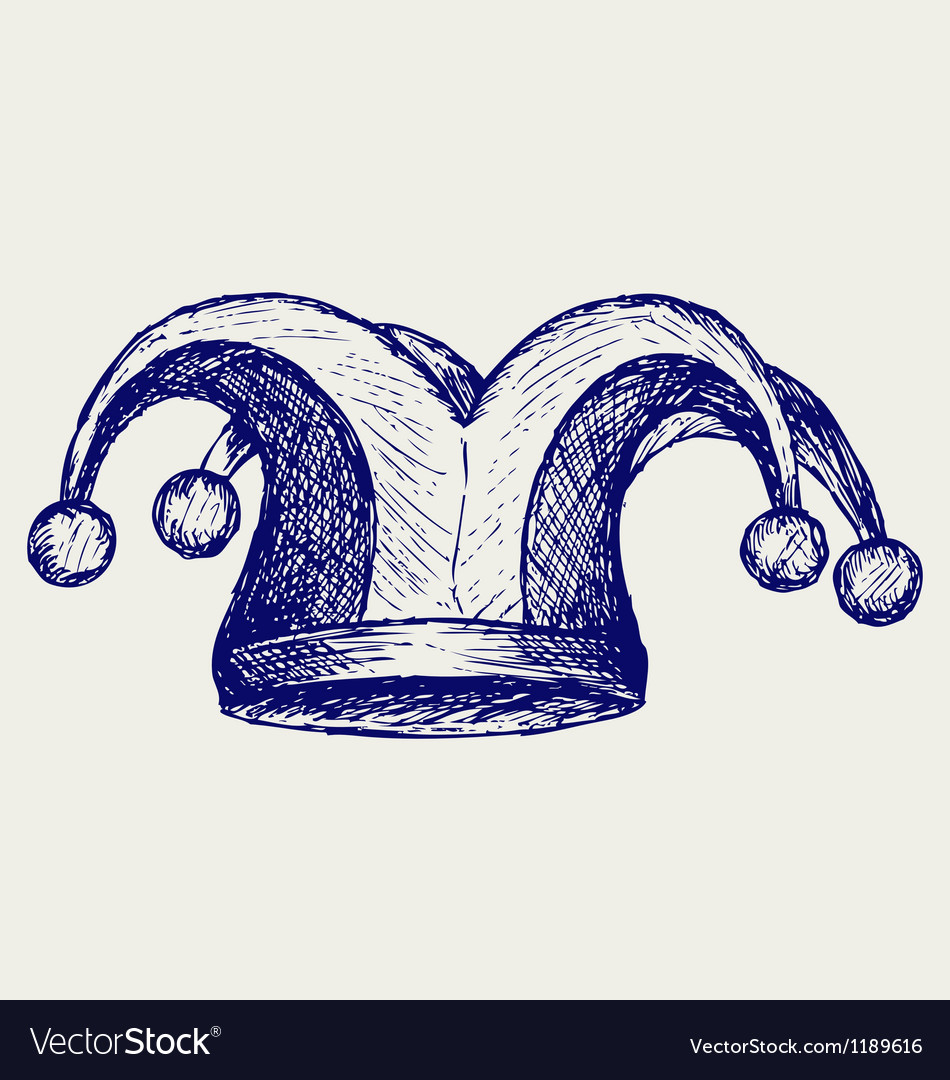 Jester hat vector | Price: 1 Credit (USD $1)