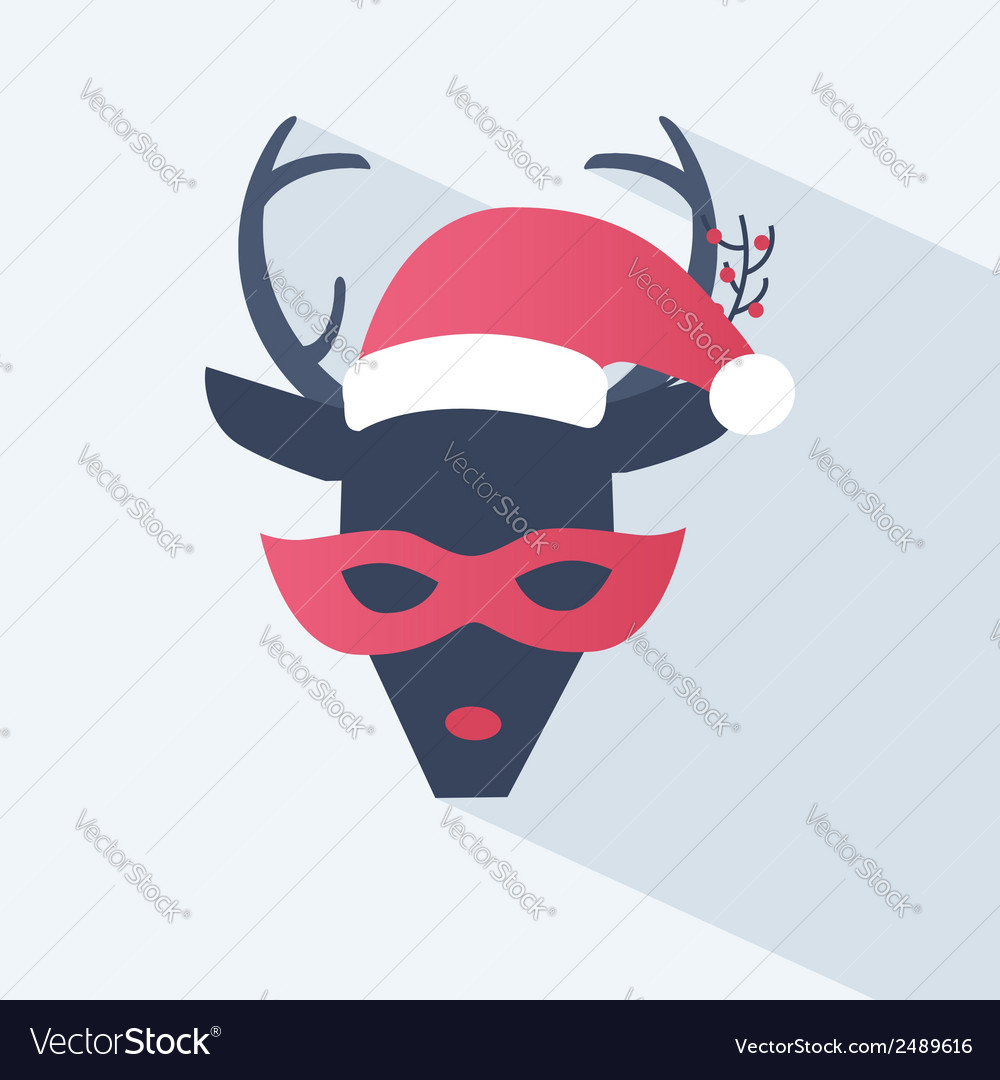 New year or christmas icon vector | Price: 1 Credit (USD $1)
