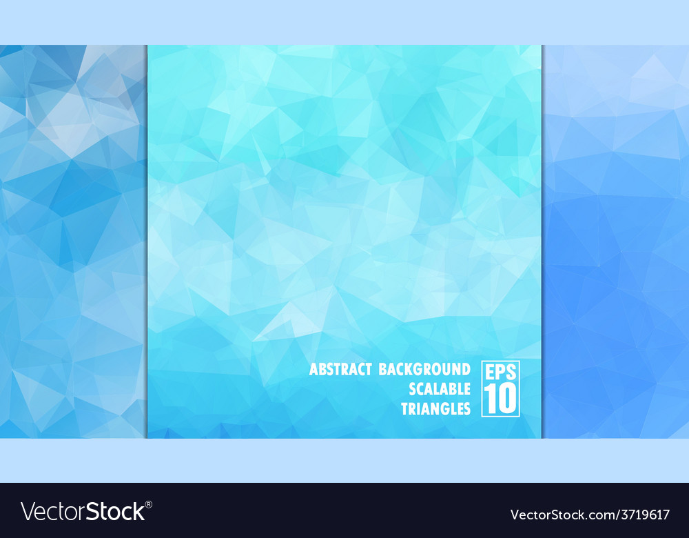 Abstract geometric background of triangles in vector | Price: 1 Credit (USD $1)