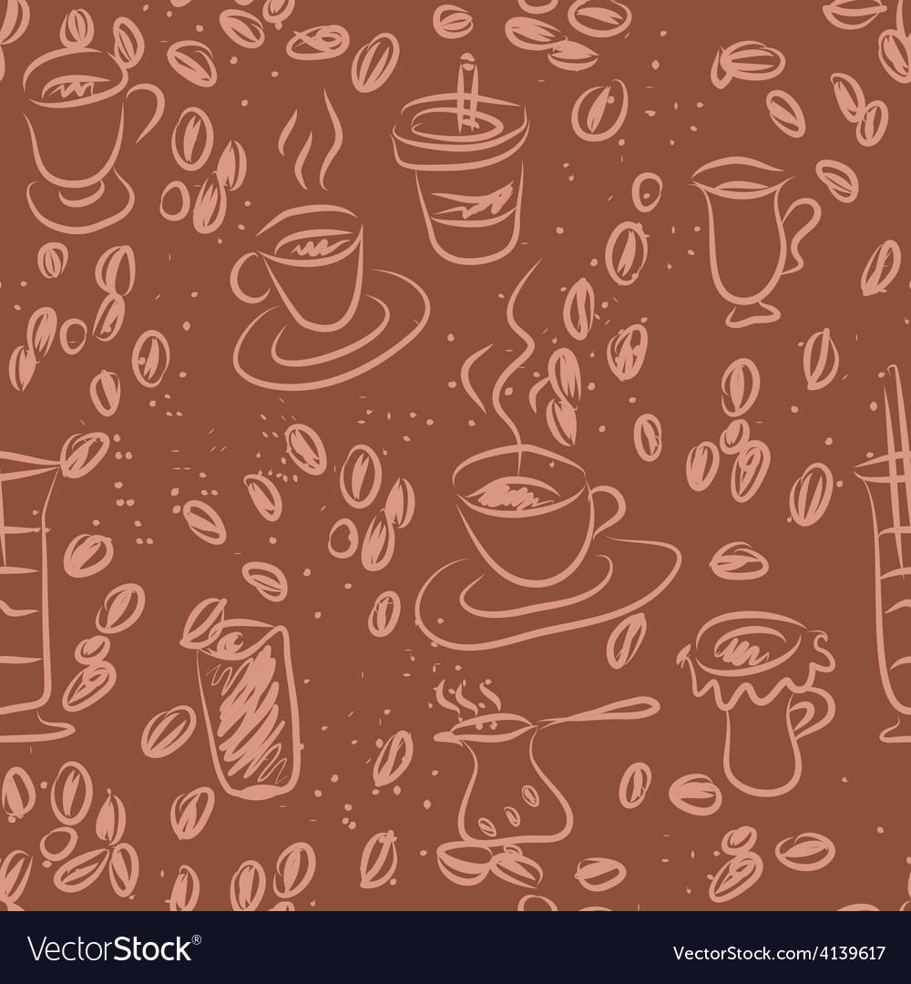 Coffee doodling vector | Price: 1 Credit (USD $1)