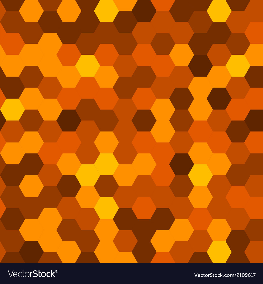 Hexagons abstract background geometric seamless vector | Price: 1 Credit (USD $1)