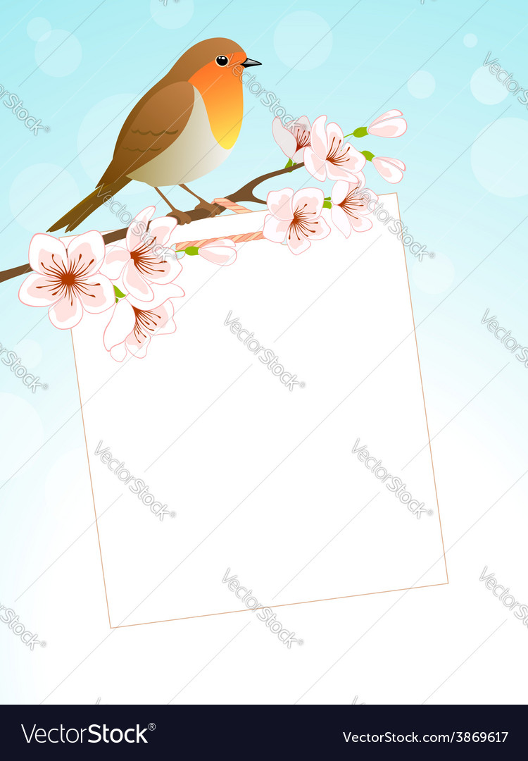 Spring message vector | Price: 1 Credit (USD $1)