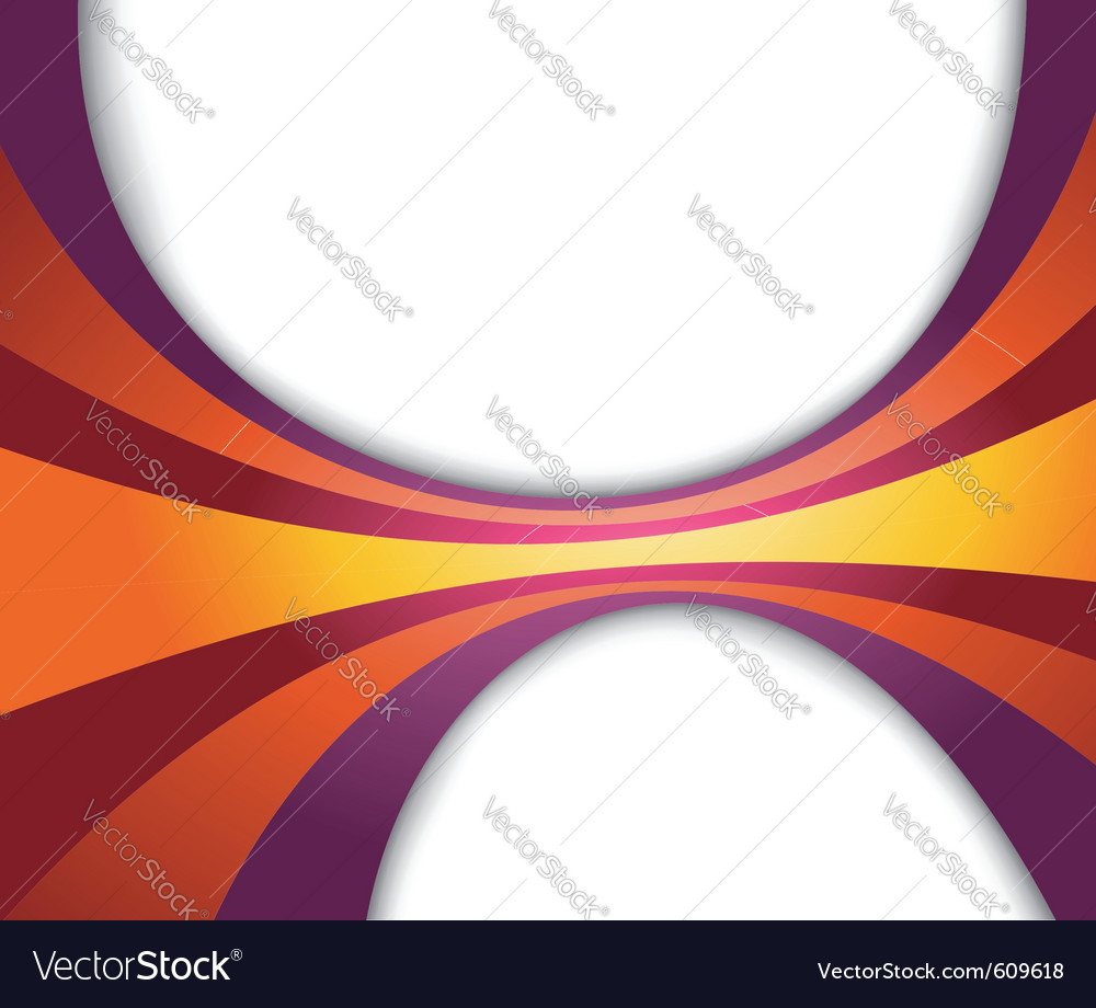 Abstract refreshing rainbow wave vector | Price: 1 Credit (USD $1)