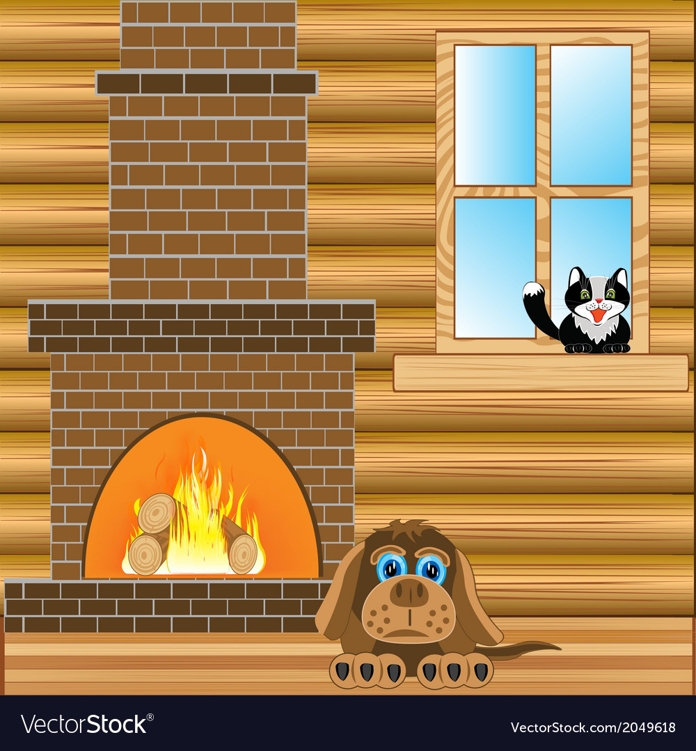 Room with heater vector | Price: 1 Credit (USD $1)