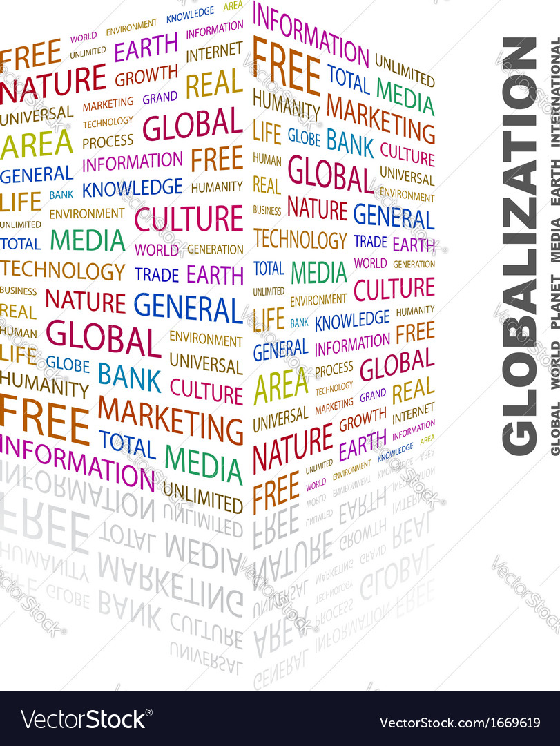 Globalization vector | Price: 1 Credit (USD $1)