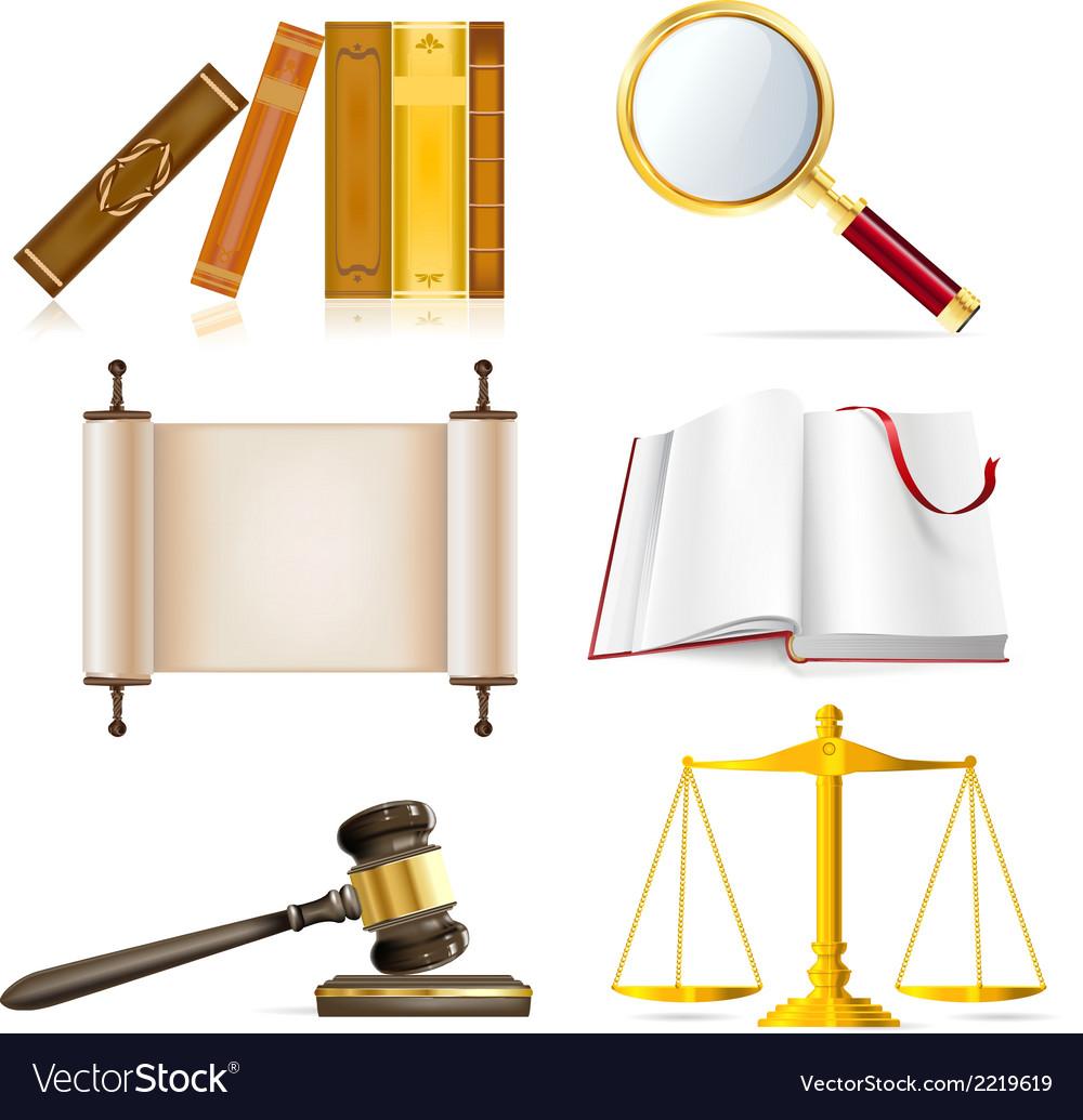 Justice set vector | Price: 1 Credit (USD $1)