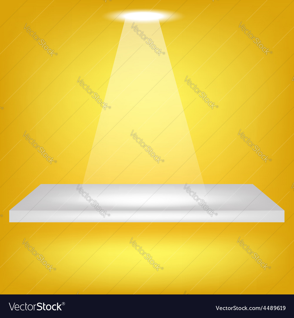 Single shelf vector | Price: 1 Credit (USD $1)