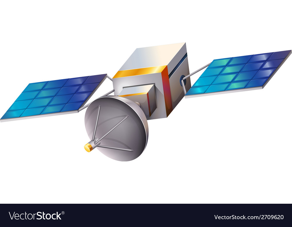 A satellite vector   Price: 1 Credit (USD $1)
