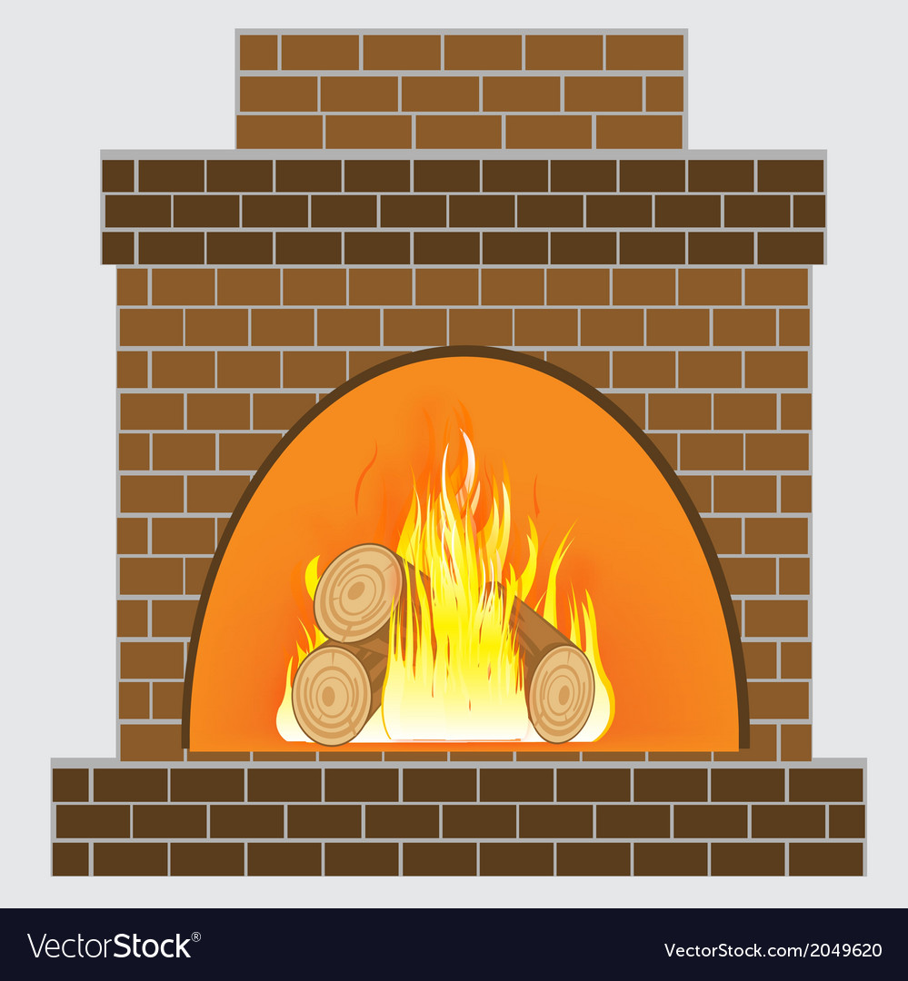 Heater from brick vector | Price: 1 Credit (USD $1)