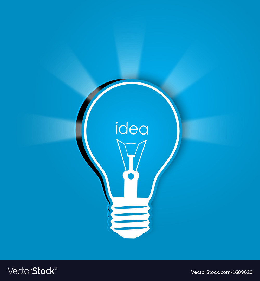 Idea background vector | Price: 1 Credit (USD $1)