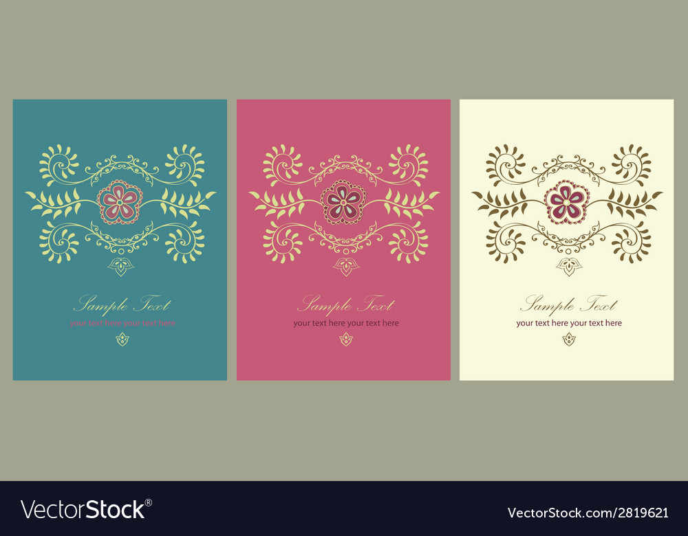 Hindy mehendi design vector | Price: 1 Credit (USD $1)