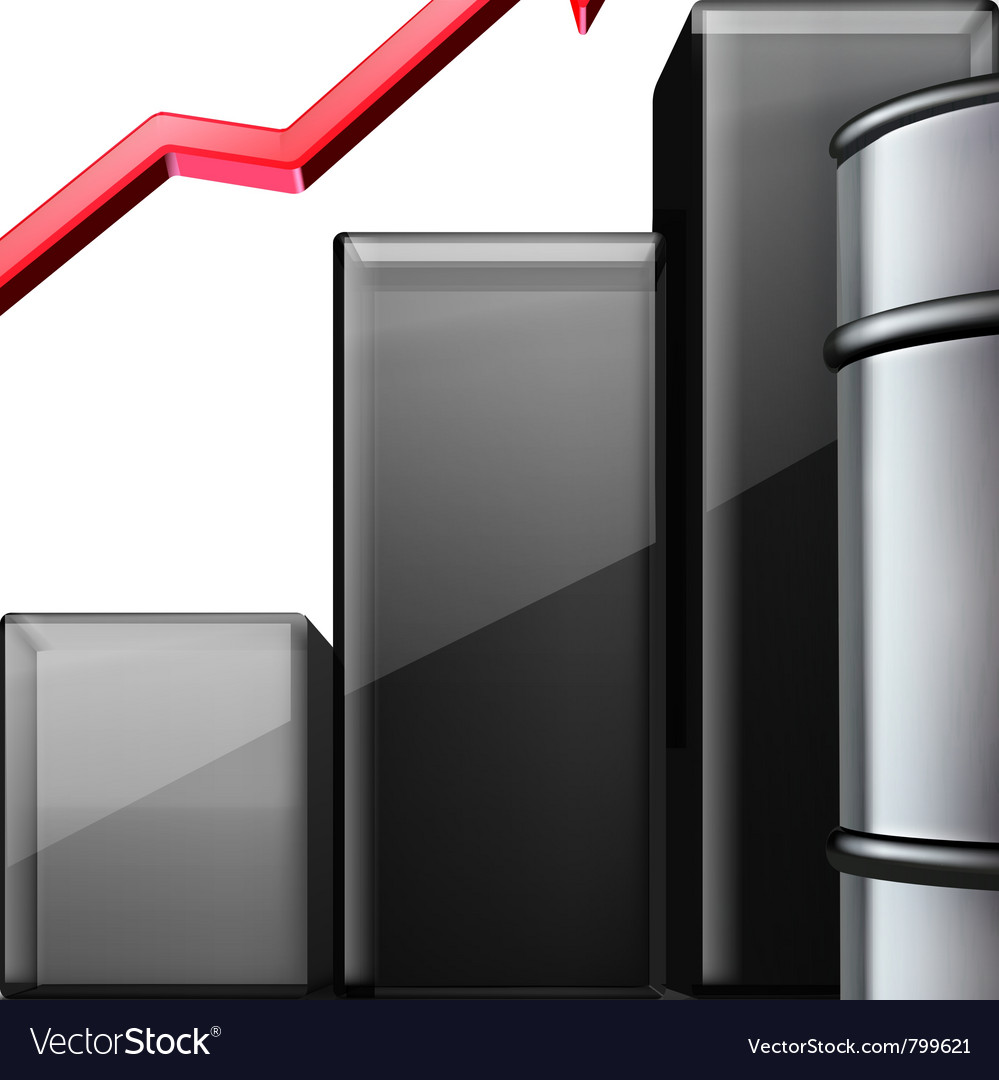 Metal oil barrel vector | Price: 3 Credit (USD $3)