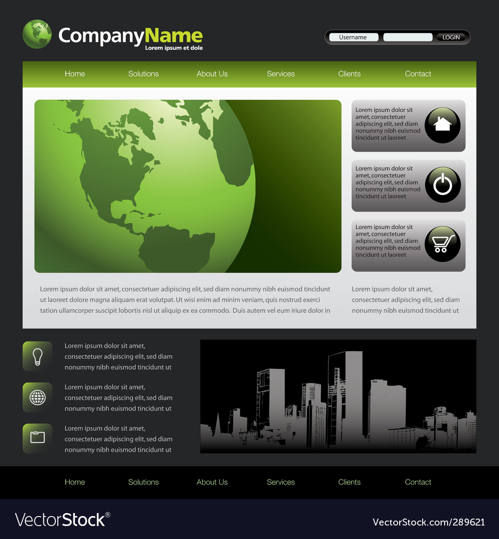 Web template 46387a vector | Price: 1 Credit (USD $1)