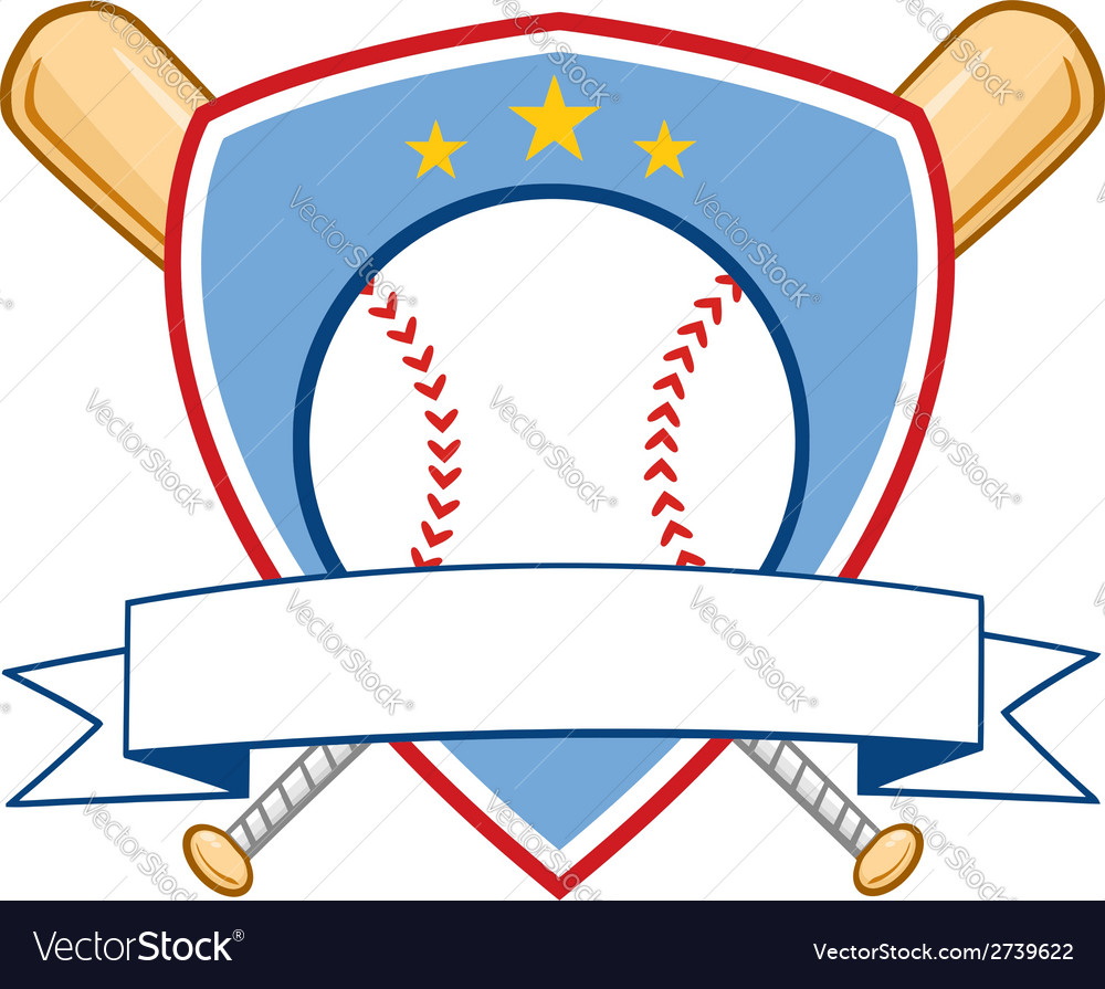 Cartoon baseball design elements vector | Price: 1 Credit (USD $1)