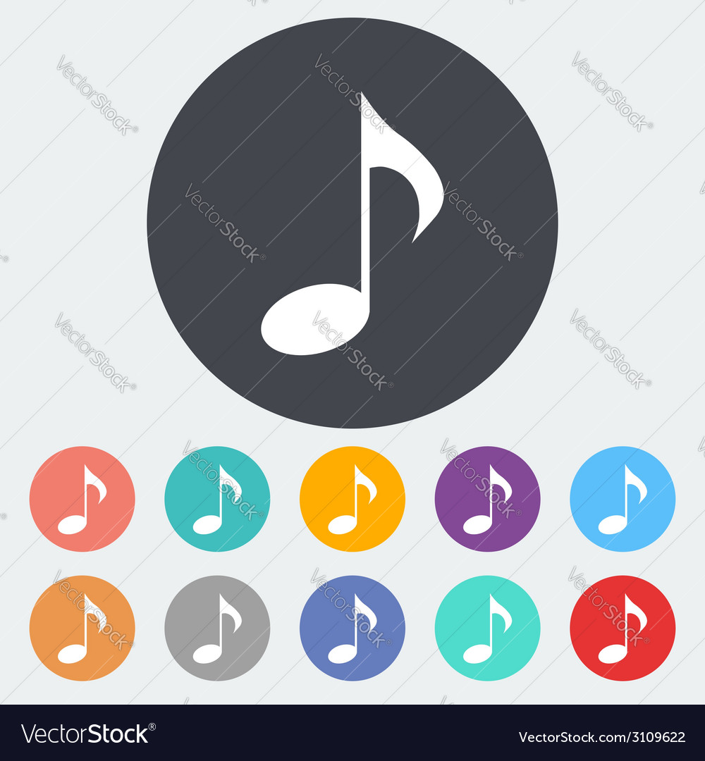 Note icon vector | Price: 1 Credit (USD $1)
