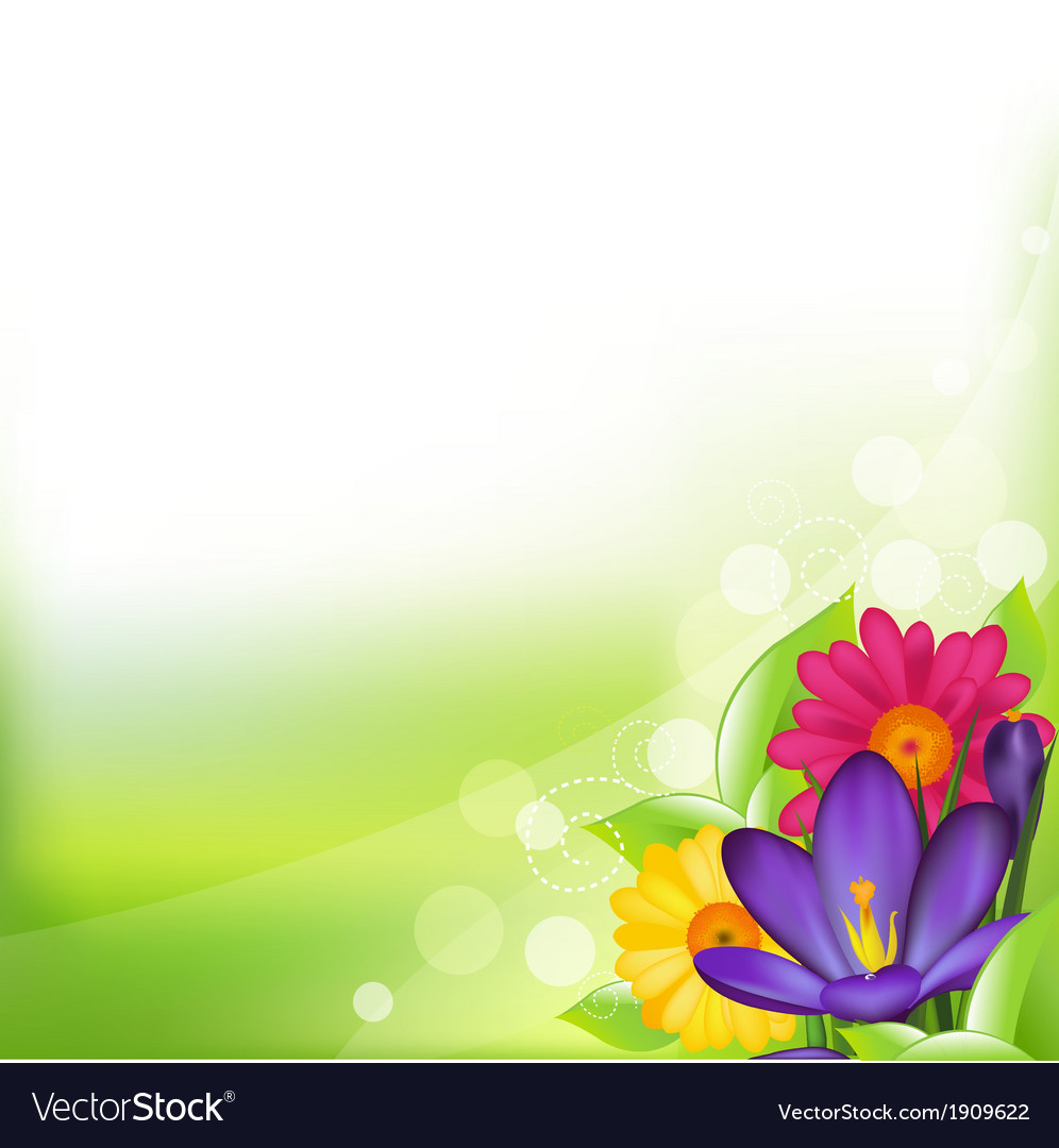 Spring flower vector   Price: 1 Credit (USD $1)