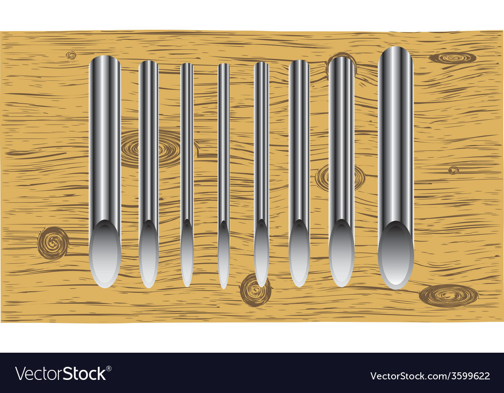 Steel pipes vector | Price: 1 Credit (USD $1)