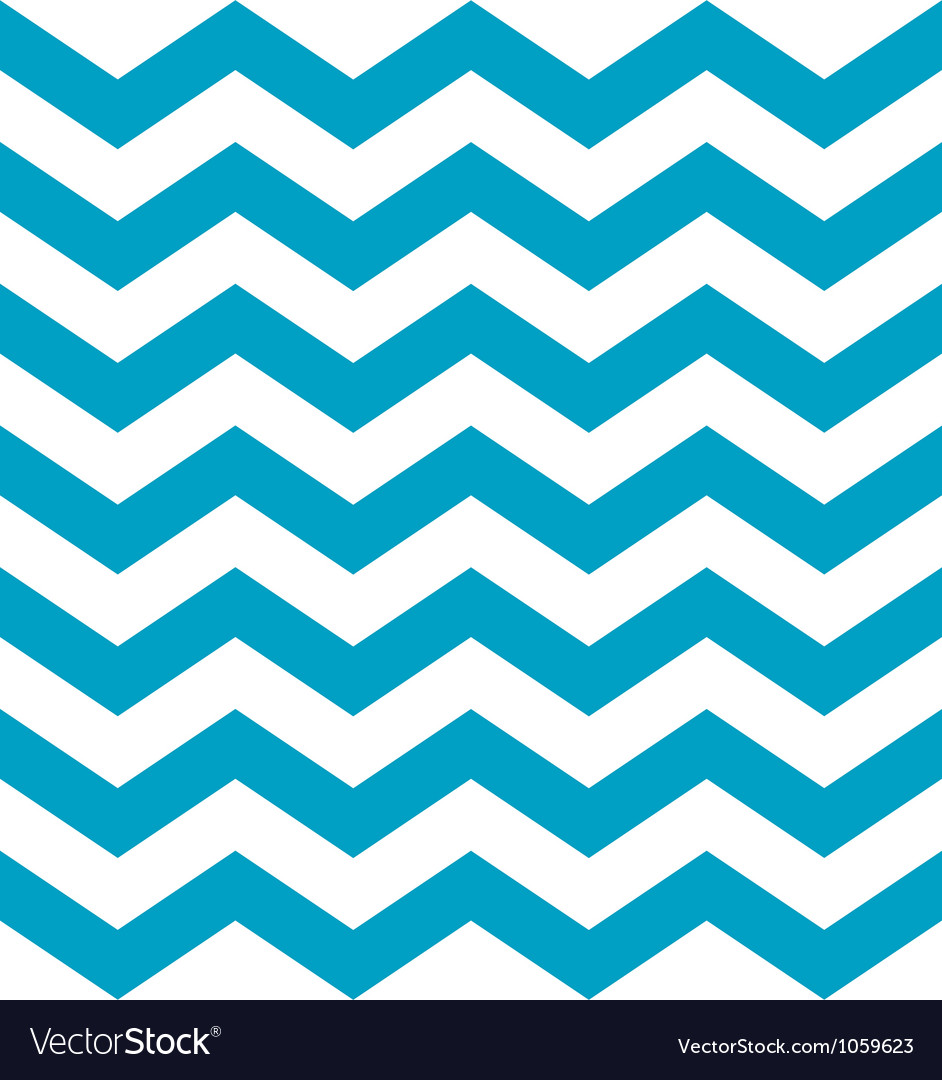 Beautiful aqua blue and white chevron pattern vector | Price: 1 Credit (USD $1)