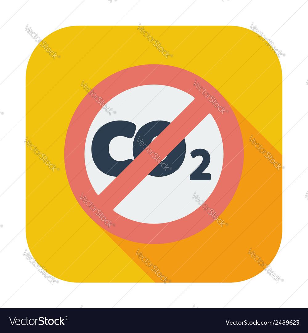 Co2 icon vector | Price: 1 Credit (USD $1)
