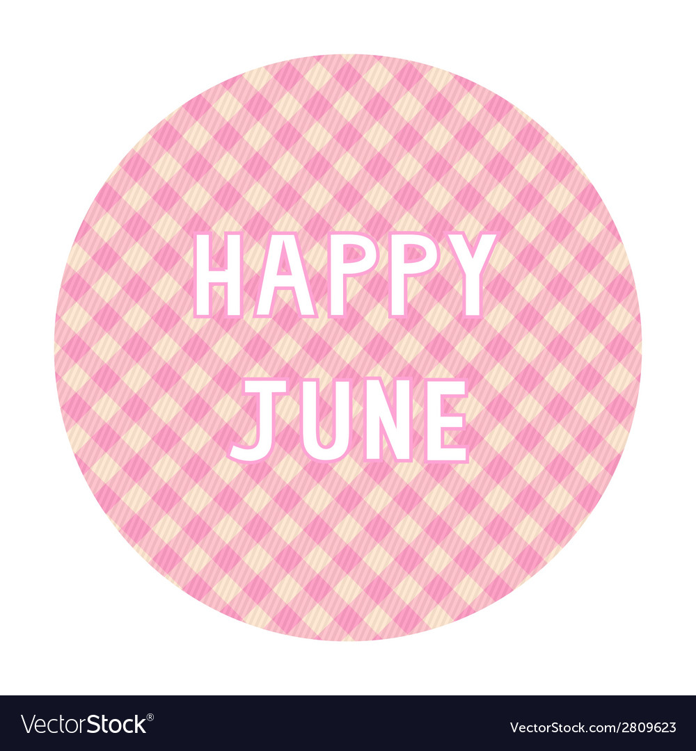Happy june background4 vector | Price: 1 Credit (USD $1)