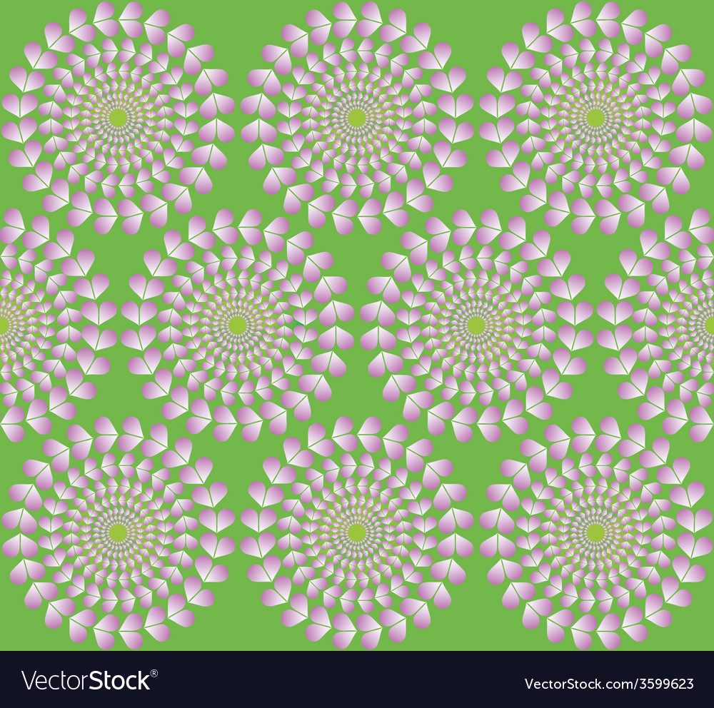 Hypnotic hearts vector | Price: 1 Credit (USD $1)