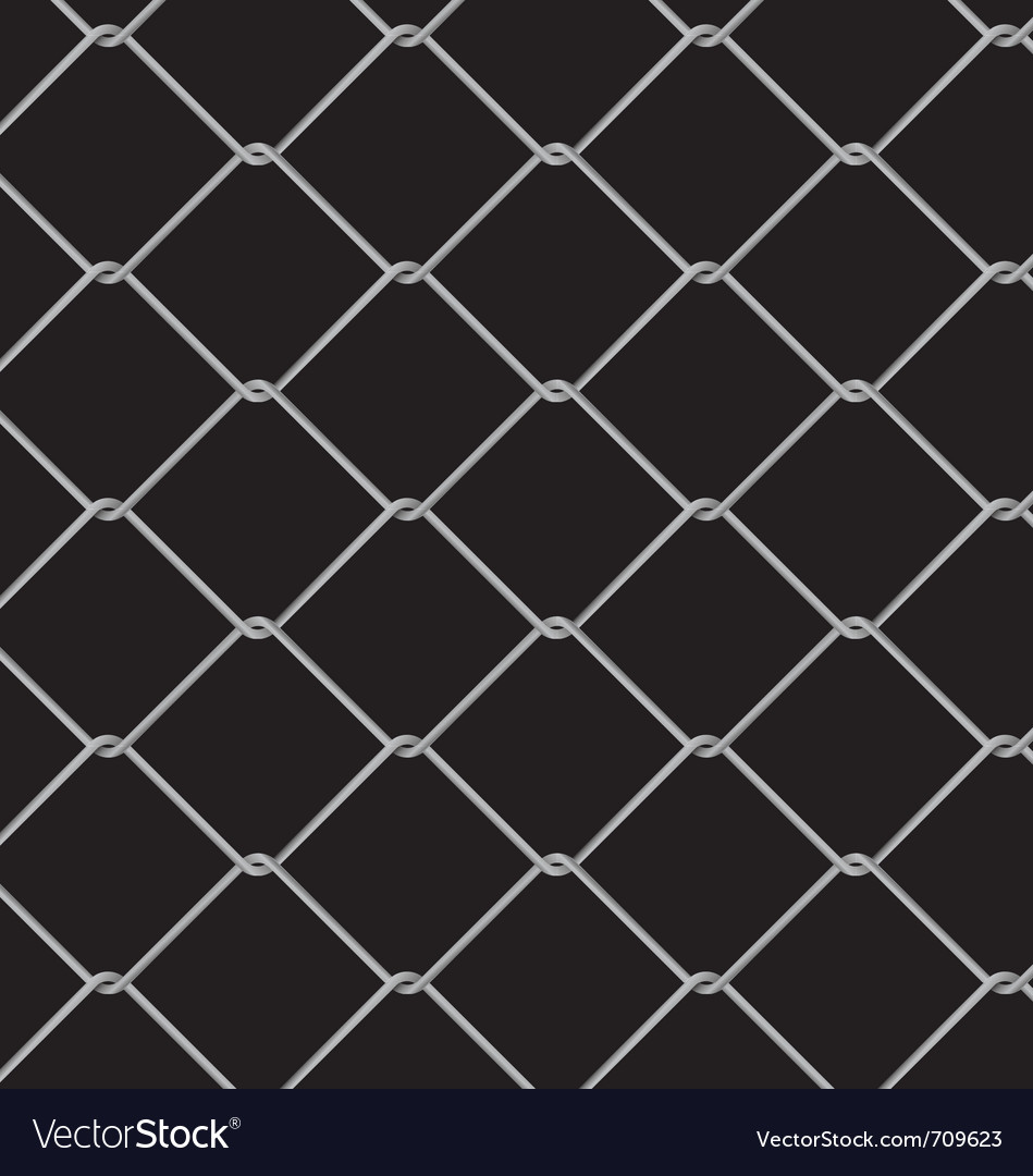 Wire fence seamless pattern vector | Price: 1 Credit (USD $1)
