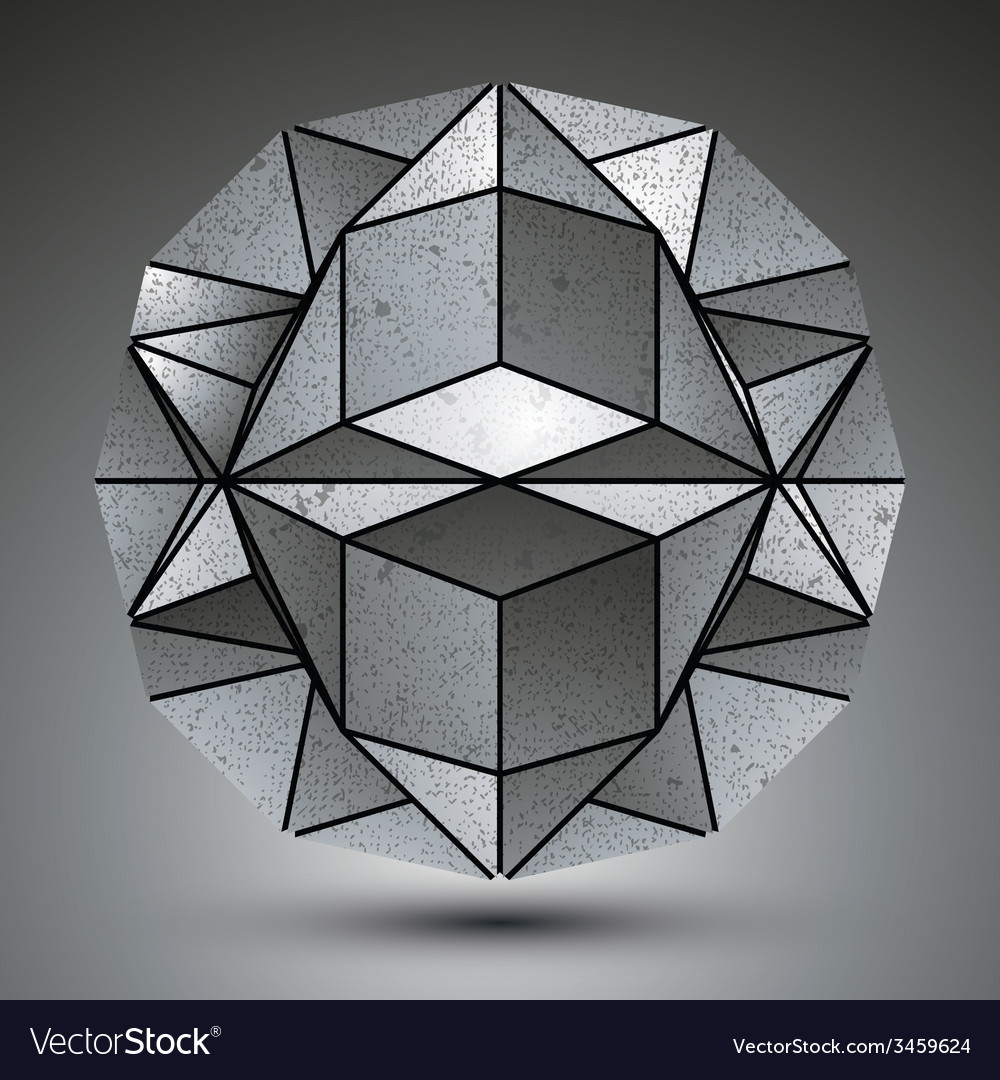 Complicated dimensional spherical element created vector | Price: 1 Credit (USD $1)