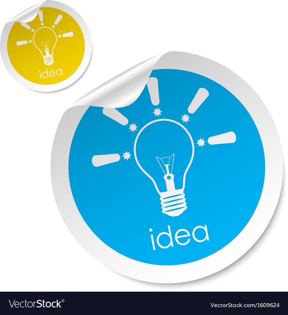 Idea stick vector | Price: 1 Credit (USD $1)