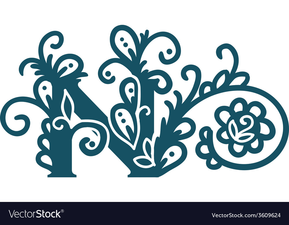 Isolated stylized calligraphic vector | Price: 1 Credit (USD $1)
