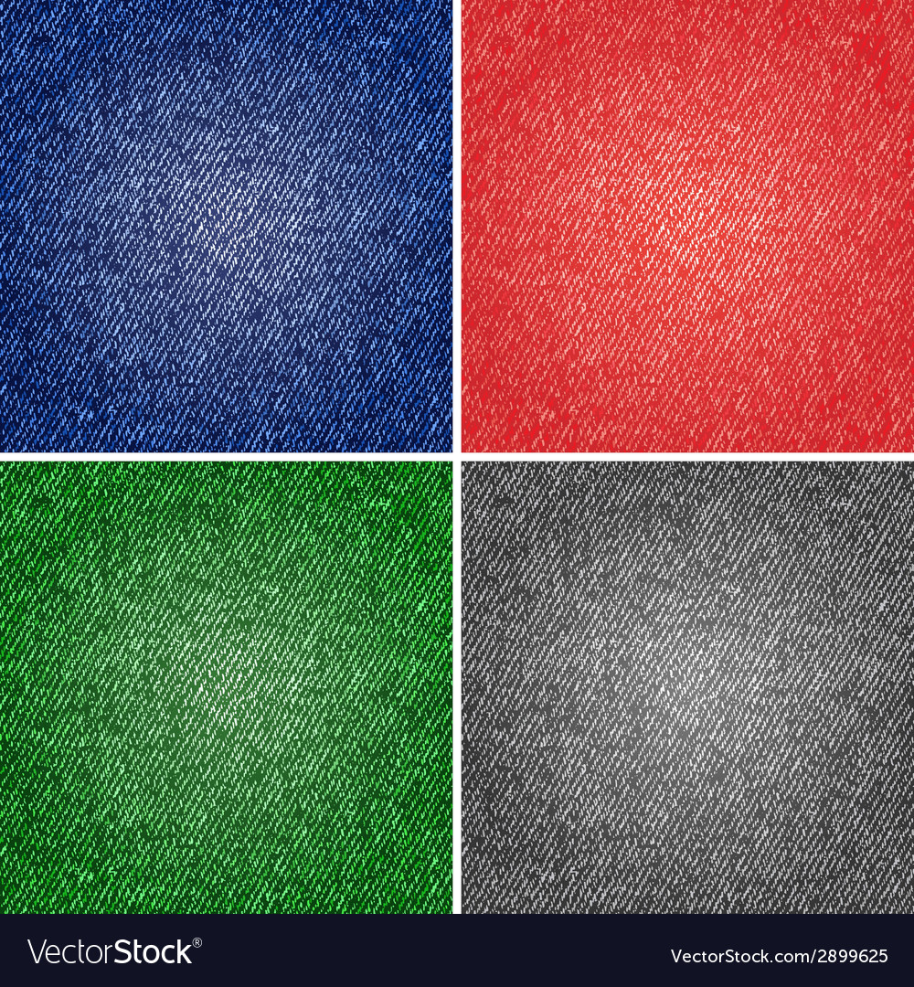 Four different versions jeans texture vector   Price: 1 Credit (USD $1)