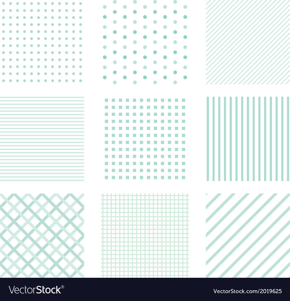 Seamless simple patterns vector | Price: 1 Credit (USD $1)