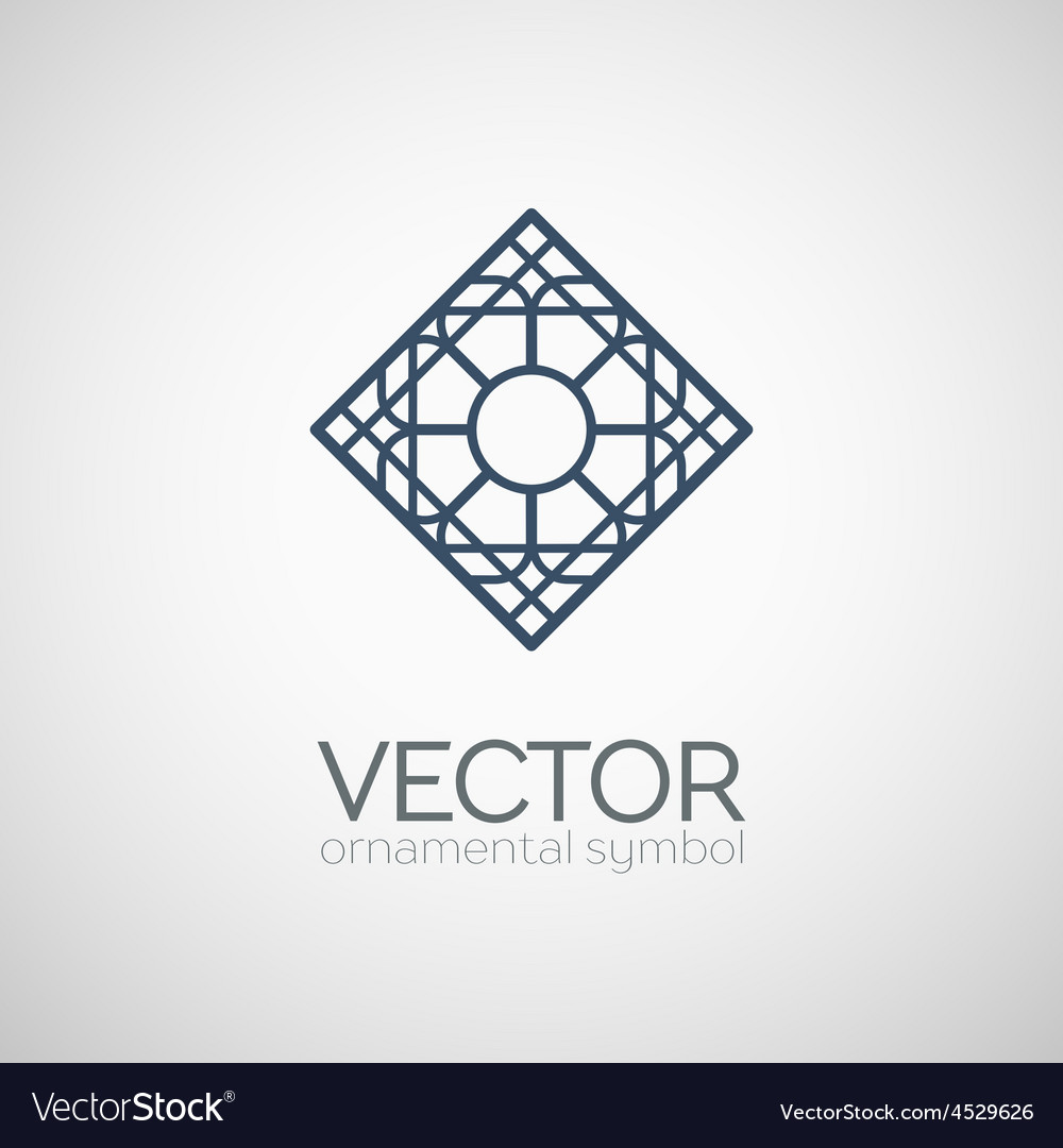 Geometric symbol vector | Price: 1 Credit (USD $1)