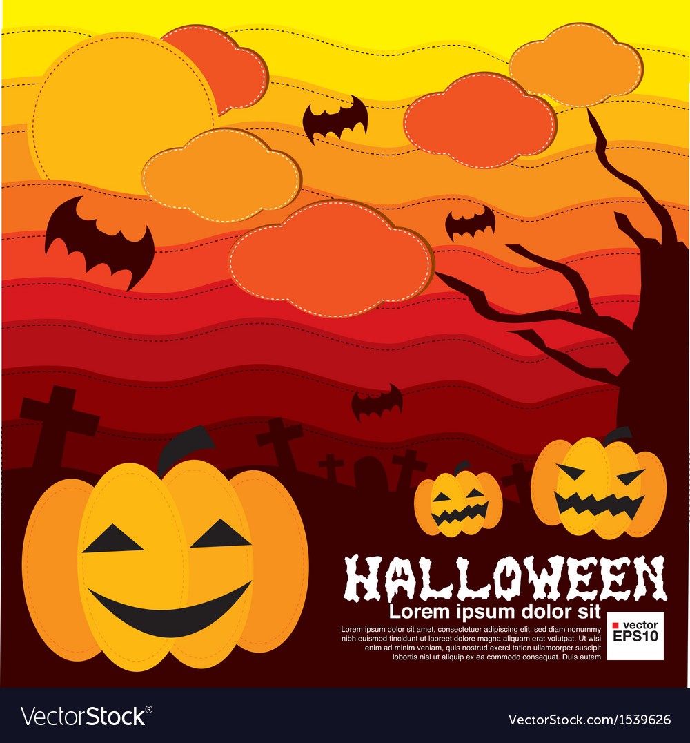 Halloween concept eps10 vector | Price: 1 Credit (USD $1)