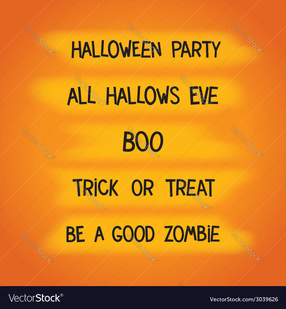 Halloween creative labels vector | Price: 1 Credit (USD $1)