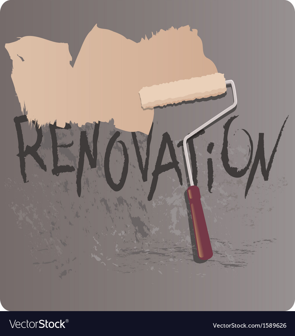 Renovation vector | Price: 1 Credit (USD $1)