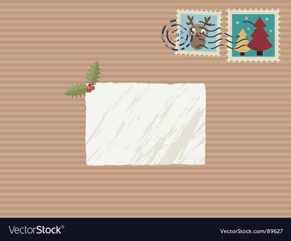 Christmas parcel vector | Price: 1 Credit (USD $1)