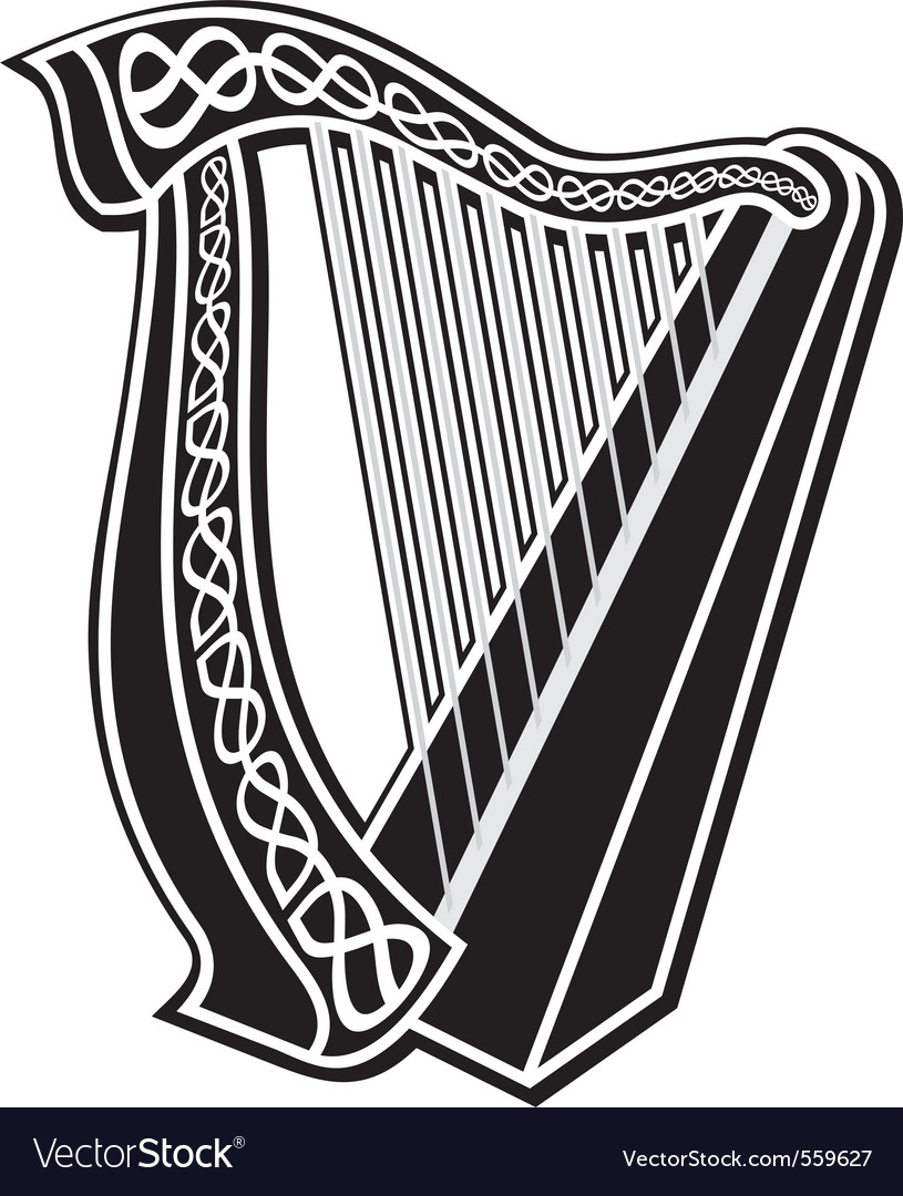 Harp icon vector | Price: 1 Credit (USD $1)
